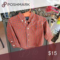 Ralph Lauren Button  Down  Shirt Button Down Plaid  Shirt Ralph Lauren Shirts & Tops Button Down Shirts