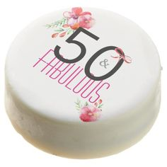#50 and Fabulous Elegant Birthday Party Chocolate Dipped Oreo - #Chocolates #Treats #chocolate