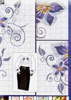Gallery.ru / Фото #3 - Los patrones de bordado bordado de mini №185 2016 - Chispitas