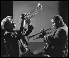 Cheatham & Nicholas Payton  / photo by Herman Leonard