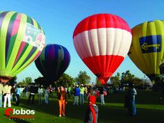evento con globos aerostáticos en Jiquilpan, Michoacán. ana@globosaerostaticosmexico.com