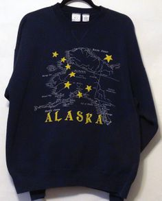 Vintage Alaska Sweatshirt XL by NativeLilacVintage on Etsy, $20.00