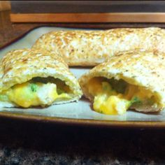 May 5, 2012 (dinner) - Chicken and broccoli Hot Pockets