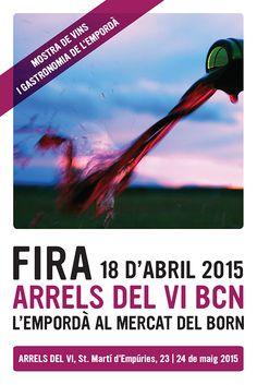 El 18 de abril llega la feria Arrels del Vi a Barcelona: el Empordà en el Mercat del Born https://www.vinetur.com/2015032618730/el-18-de-abril-llega-la-feria-arrels-del-vi-a-barcelona-el-emporda-en-el-mercat-del-born.html