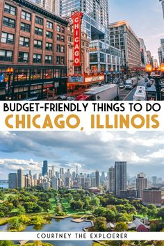 Planning a weekend getaway to Chicago? These 50+ Budget Friendly Things to do in Chicago, Illinois will keep you entertained all weekend long in this Midwest City!