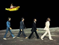 The Beatles, Abbey Road: Walking on the Moon Abbey Road, Les Beatles, Beatles Art, Pop Rock, Rock And Roll, Beatles Albums, Road Rage, The Fab Four, Walk This Way