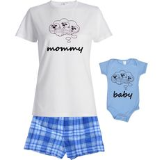 8 Awesome New Mommy Matching T-Shirt/Outfit images ...