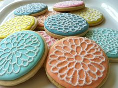 Dahlia Cookies