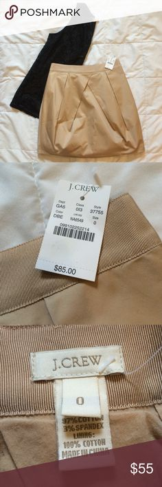 Brand new J Crew skirt size 0 So beautiful!  Size 0. J. Crew Skirts Mini