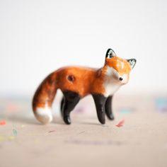 Le Red Fox Amethyst Totem // le animalé
