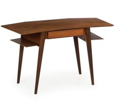 Silvio Cavatorta; Teak Desk, 1950s.