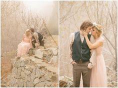 Enchanted Fairytale Engagement Shoot