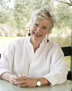 Aussie Style Icon - Maggie Beer - Cooking School, Food Products, TV Shows and Cookbook Author.   Celebrating women: Maggie Beer
