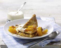 Unser beliebtes Rezept für French Toast mit karamellisierten Aprikosen und mehr als 55.000 weitere kostenlose Rezepte auf LECKER.de.