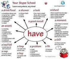 English - have