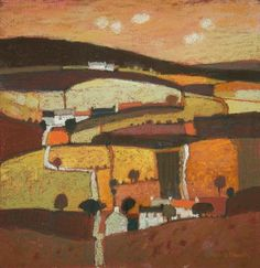 Born in Motherwell, Scotland, Moira Huntly studied at the Harrow School of Art and at the Hornsey College of Art. She is well known in the art world, is. Abstract Landscape, Landscape Paintings, Landscape Pictures, Gouache, Pastel Art, Pastel Paintings, Contemporary Paintings, Art Techniques, Artist At Work