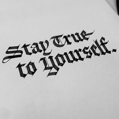 Seb lester lettering calligraphy quotes, calligraphy fonts и Tattoo Wort, I Tattoo, Tattoo Quotes, Tattoo Chicana, Seb Lester, Great Quotes, Inspirational Quotes, Bauch Tattoos, Calligraphy Quotes