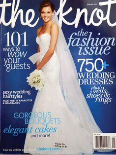 uh saw this dress on the magazine at the store...SO PRETTY