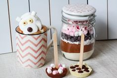3 x creatief met chocolademelk
