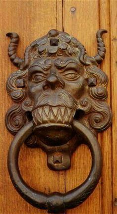 Vintage Victorian Doorknob Backplate Set Door knocker unique 14 * in the Pays-des-Fleu .Door knocker unique 14 * in the Pays-des-Fleu .