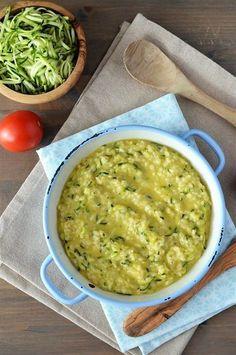 Orez cu zucchini si Cheddar - Retete culinare by Teo's Kitchen