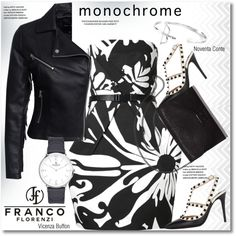 How To Wear Make it Monochrome Outfit Idea 2017 - Fashion Trends Ready To Wear For Plus Size, Curvy Women Over 20, 30, 40, 50