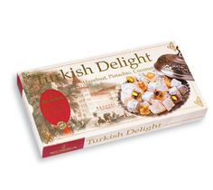 About the Product - Turkish Delight Hazelnut, Pistachio, Coconut (Koska) - All natural ingredients. - Product of Turkey. Turkish Sweets, Turkish Coffee, Turkish Delight, Pistachio, Gourmet Recipes, Coconut, Gifts, Turkey, Vegetarian