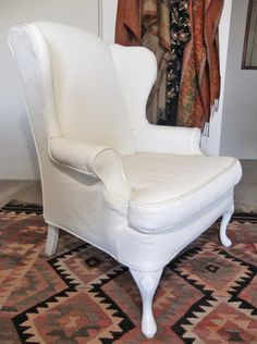 Custom Wing Chair Slipcovers Wingback Chair Slipcovers, Custom Slipcovers, Wing  Chairs, Diamond Pattern