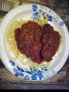 Recipe: Ted Allen's Spaghetti and Meatballs on the Food Network   bmorefoodieexperience