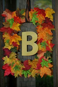 Updated Fall Wreaths - Amanda Jane Brown