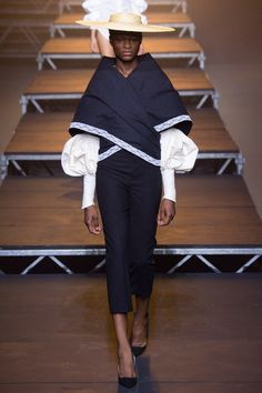 View the complete Jacquemus Spring 2017 collection from Paris Fashion Week.