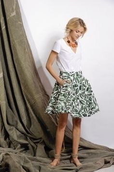 Couture, Midi Skirt, Floral, Skirts, Design, Products, Fashion, Skirt Sewing, Short Skirts