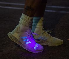 """online retailer dfc43 4f2ed Yan Bar on Instagram  """"You can stay in the past, but I m going back to the  future 👋🏽🚀 😉 Daniel Arsham x adidas Futurecraft 4D . . Cop or Drop    🤔🗣 ."""