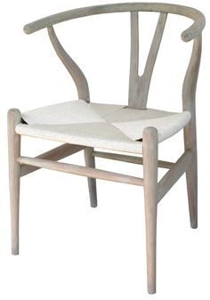 Wishbone Chair, White - Dining Chairs | Interiors Online - Furniture Online & Decorating Accessories