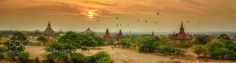"Hot air ballons over pagodas field Bagan Myanmar Go to http://iBoatCity.com and use code PINTEREST for free shipping on your first order! (Lower 48 USA Only). Sign up for our email newsletter to get your free guide: ""Boat Buyer's Guide for Beginners."""