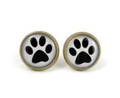 Hey, I found this really awesome Etsy listing at http://www.etsy.com/listing/109106238/dog-paw-stud-earrings-paw-print-jewelry