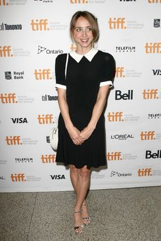 """Zoe Kazan attends the """"Love & Mercy"""" premiere during the 2014 Toronto International Film Festival at The Elgin on September 7, 2014 in Toronto, Canada."""