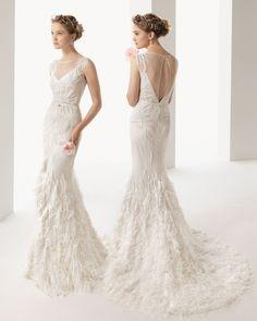 Rosa Clara 'Uma 208' size 2 used wedding dress - Nearly Newlywed