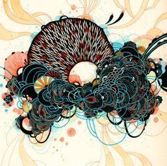 Art Prints and Original Artwork of Yellena James by yellena Cool Stuff, Yellena James, Zentangle, Kokeshi Dolls, Prints For Sale, Abstract Art, Abstract Nature, Illustration Art, Gallery