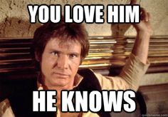 Sorry not sorry. I will always love Star Wars. And Harrison Ford.