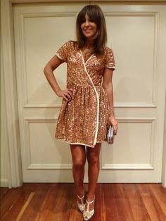 Paula Echevarría acude al concierto de su marido David Bustamante con un look muy sofisticado y repitiendo flequillo, el modelo Sagitario, su favorito!