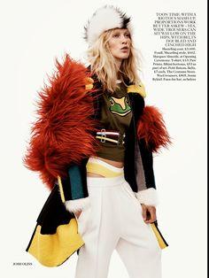 Iselin Steiro Vogue UK October 2014
