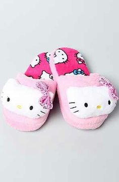 Hello Kitty Slippers of the variety Kat would wear.