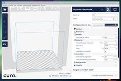 Imprimiendo En 3D: Actualización Cura
