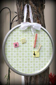 Embellish the Details: Girls Camp Craft: Magnetic Board