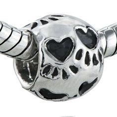 Pandora Heart Dog Paws Charm