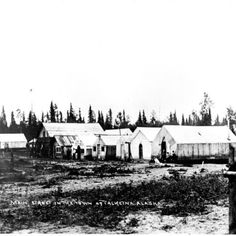 Main St. Talkeetna in the early 1900s. Looks pretty different these days. Photo courtesy of the Talkeetna Historical Society.