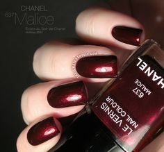 Chanel Le Vernis 637 Malice from the Eclats du Soir de Chanel Holiday 2012 Collection