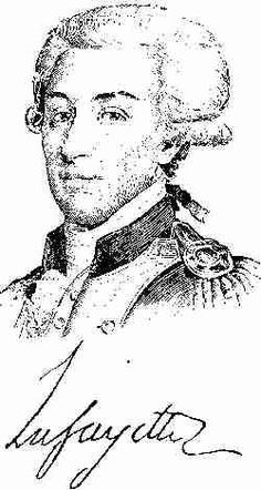 George Washington Lafayette Marquis de LaFayette so loved