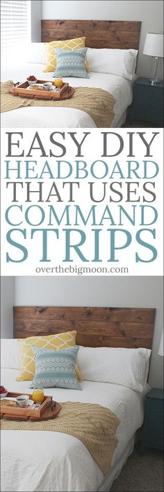 Easy DIY Headboard t
